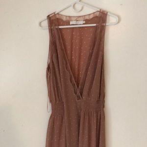 Astro Blush Maxi Dress size M